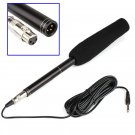 Professional Interview Microphone Condenser MIC for DSLR DV Camcorders Video Camera SGA998
