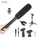 Professional Interview Report Voice Recorder Handheld Microphone Studio Conference Condenser Camera