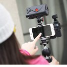 STOCK DJI Osmo Pocket Phone Holder Aluminium Mount L Bracket wi cold shoe Ulanzi LED Light DJI Osmo
