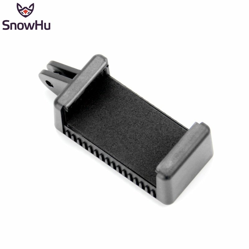 SnowHu for Mobile Phone Clip with 1/4 Screw Hole By using it  you can mount your phone for GoPro cam