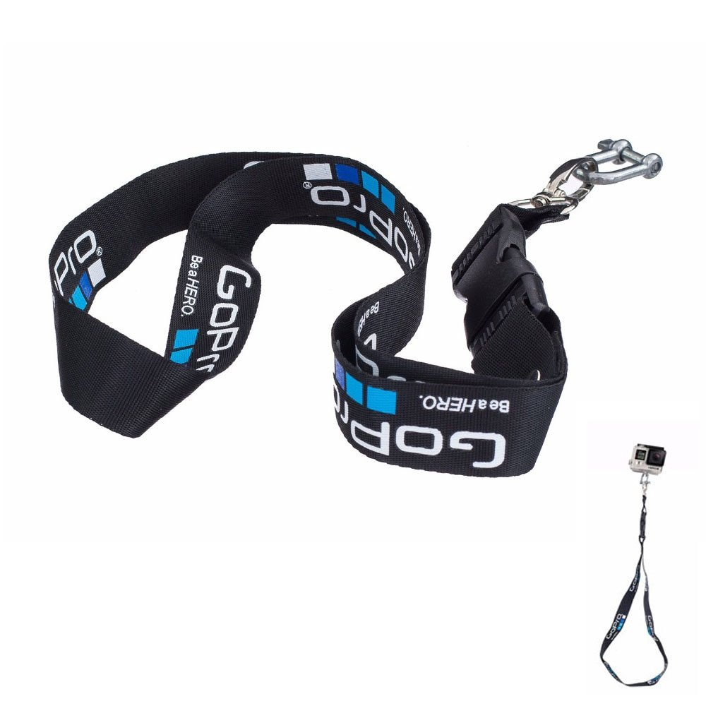 Sports Camera Accessories Rope for Gopro lanyard hero4/3 mountain dog ant camera lanyard go pro acce