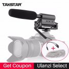 Takstar SGC-598 Condenser Video Recording Microphone for Nikon Canon Sony DSLR Camera  Vlogging Inte