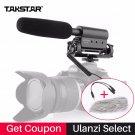 Takstar SGC-598 Condenser Video Recording Microphone for Nikon Canon Sony DSLR Camera  Vlogging Inte