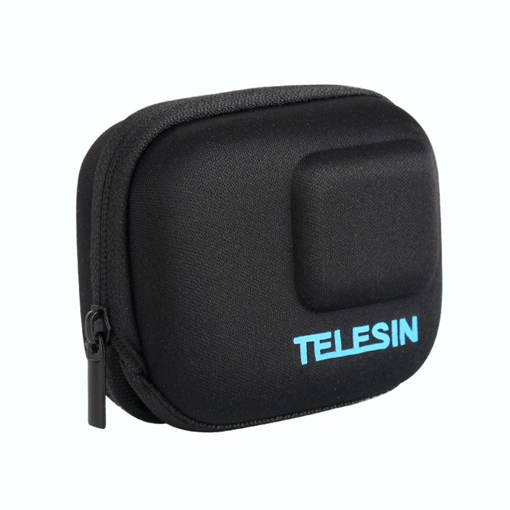 Telesin Mini Storage Bag For Gopro Hero 7 6 Protective Case Eva Bag For Go Pro Hero 7 6 5 Action Cam