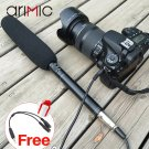 Ulanzi Directional Condenser Camera Shotgun Interview Video Microphone Microfone for Canon Nikon DV