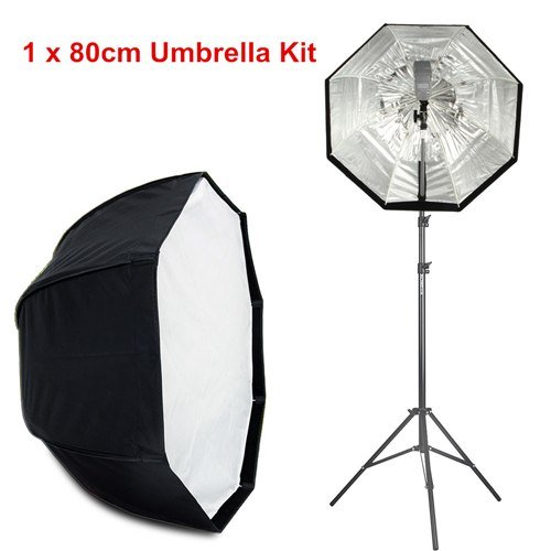 Viltrox 80cm/120cm Octagon Umbrella Photo Softbox Studio Reflector+74.8  Light Stand+Flash Bracket k