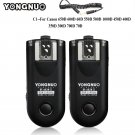 YONGNUO RF-603 II C1 Radio Wireless Remote Flash Trigger for Canon 1100D 1000D 600D 700D 650D 100D 5