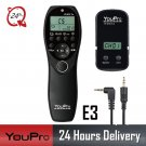 YouPro YP-870 II E3 Wireless Shutter Timer Remote for Canon Rebel 80D 750D 1100D 100D G10 G11  T1i T