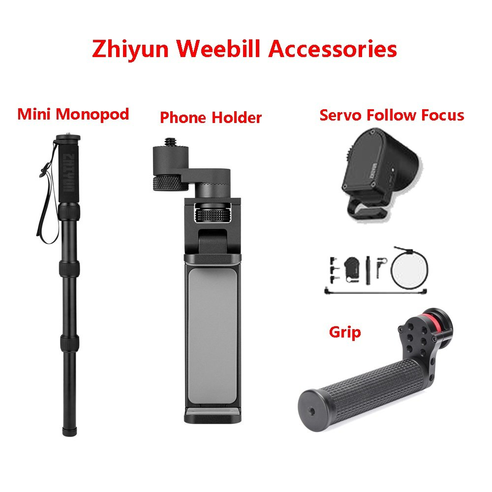 Zhiyun Servo Follow Focus Phone Holder Monopod for Zhiyun Weebill lab Handheld Stabilizer Zhiyun wee
