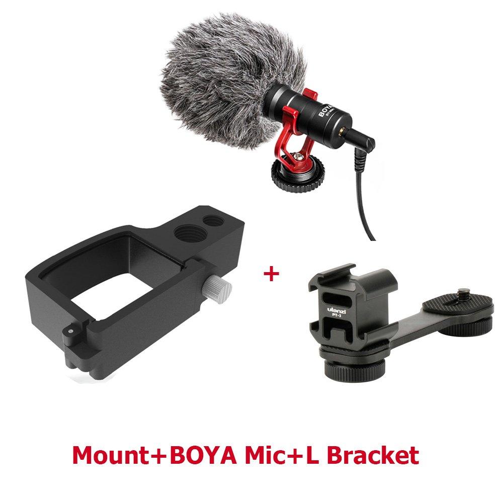 dji osmo pocket handheld accessories mount Microphone L Bracket LED video light Mic Stand for DJI Po