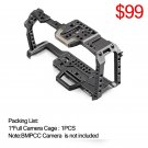 Tilta BMPCC 4K Cage TA-T01-B-G Full Camera Cage SSD Drive Holder Top Handle for BMPCC 4K Camera Basi