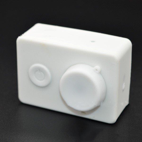 Silicon Soft Case for Xiaomi Yi Action&Sport Camera Case Protecter Cover for Xiaoyi Camera Accessori