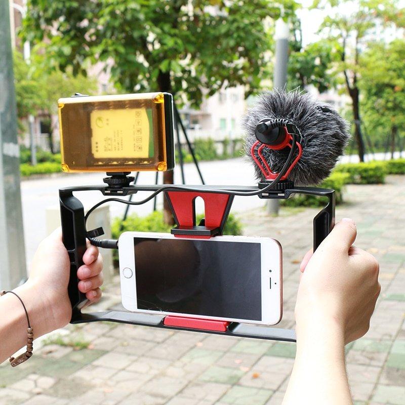 Ulanzi BOYA BY-MM1 Shotgun Microphone Video Interview Mic for Smooth Q/ DJI OSMO Nikon DSLR Camera/i