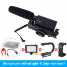 Takstar SGC-598 Photography Interview Shotgun MIC Microphone for Nikon Canon DSLR Camera DV Camcorde