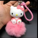 Kitty Doll Key Chain Pendant Light Pink