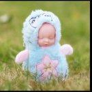 Baby Doll Key Chain blue