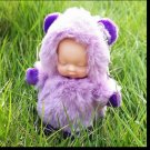 Baby Doll Key Chain Purple