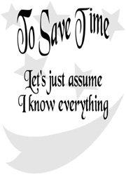 Save Time Fridge Magnet