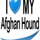 Afghan Hound Fridge Magnet