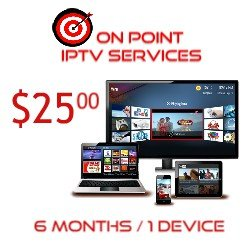 IPTV 6 MO SERVICES/ 1 CONNECTION/ INT'L CHANNELS