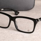 CH Hearts Biker Punk Square Frame Optical Glasses Hot Cooter Black Chrome Style