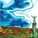 Mount-Royal Park and statue - Montreal - sku:a1