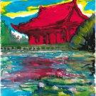 Montreal Botanical Garden pagoda - sku:i1