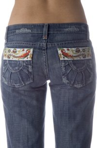 Joe's Jeans Premium Sunshine Pocket Socialite in Floyd - Size 26 - Retail $215
