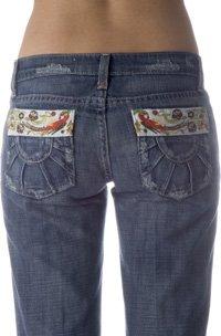 Joe's Jeans Premium Sunshine Pocket Socialite in Floyd - Size 27 - Retail $215