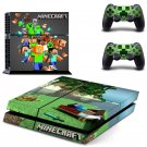 Minecraft PS4 Skin Sticker Decals PS4 Console And Controllers Protect Your PS4