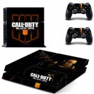 Call Of Duty Black OPS 4 PS4 Skin Sticker Decals PS4 Console And Controllers Protect Your PS4