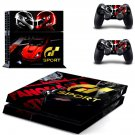 GT Sport Skin Sticker Decals PS4 Console And Controllers Protect Your PS4