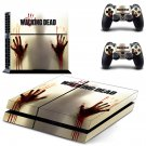 The Walking Dead PS4 Skin Sticker Decals PS4 Console And Controllers Protect Your PS4