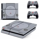 Retro Playstation PS4 Skin Sticker Decals PS4 Console And Controllers Protect Your PS4