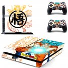 Dragon Ball Z Goku PS4 Skin Sticker Decals PS4 Console And Controllers Protect Your PS4