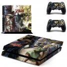 The Legend Of Zelda PS4 Skin Sticker Decals PS4 Console And Controllers Protect Your PS4