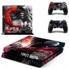 Tokyo Ghoul PS4 Skin Sticker Decals PS4 Console And Controllers Protect Your PS4