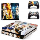 Fairy Tail Anime PS4 Skin Sticker Decals PS4 Console And Controllers Protect Your PS4
