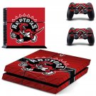 Toronto Raptors PS4 Skin Sticker Decals PS4 Console And Controllers Protect Your PS4