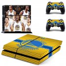 Golden State Warriors PS4 Skin Sticker Decals PS4 Console And Controllers Protect Your PS4