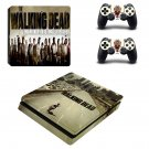 The Walking Dead PS4 Slim Skin Sticker Decals PS4 Console And Controllers Protect Your PS4