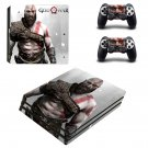 God Of War PS4 Pro Skin Sticker Decals PS4 Console And Controllers Protect Your PS4