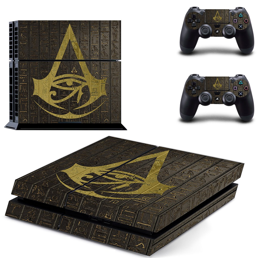 Assassins Creed PS4 Skin Sticker Decals PS4 Console And Controllers Protect Your PS4