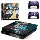 Bloodstained PS4 Skin Sticker Decals PS4 Console And Controllers Protect Your PS4