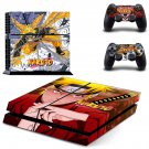 Naruto PS4 Skin Sticker Decals PS4 Console And Controllers Protect Your PS4