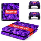 Supreme PS4 Skin Sticker Decals PS4 Console And Controllers Protect Your PS4