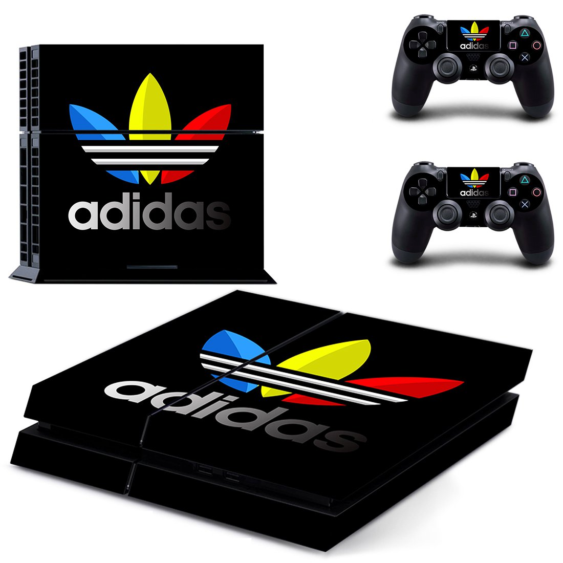 Adidas PS4 Skin Sticker Decals PS4 Console And Controllers Protect Your PS4