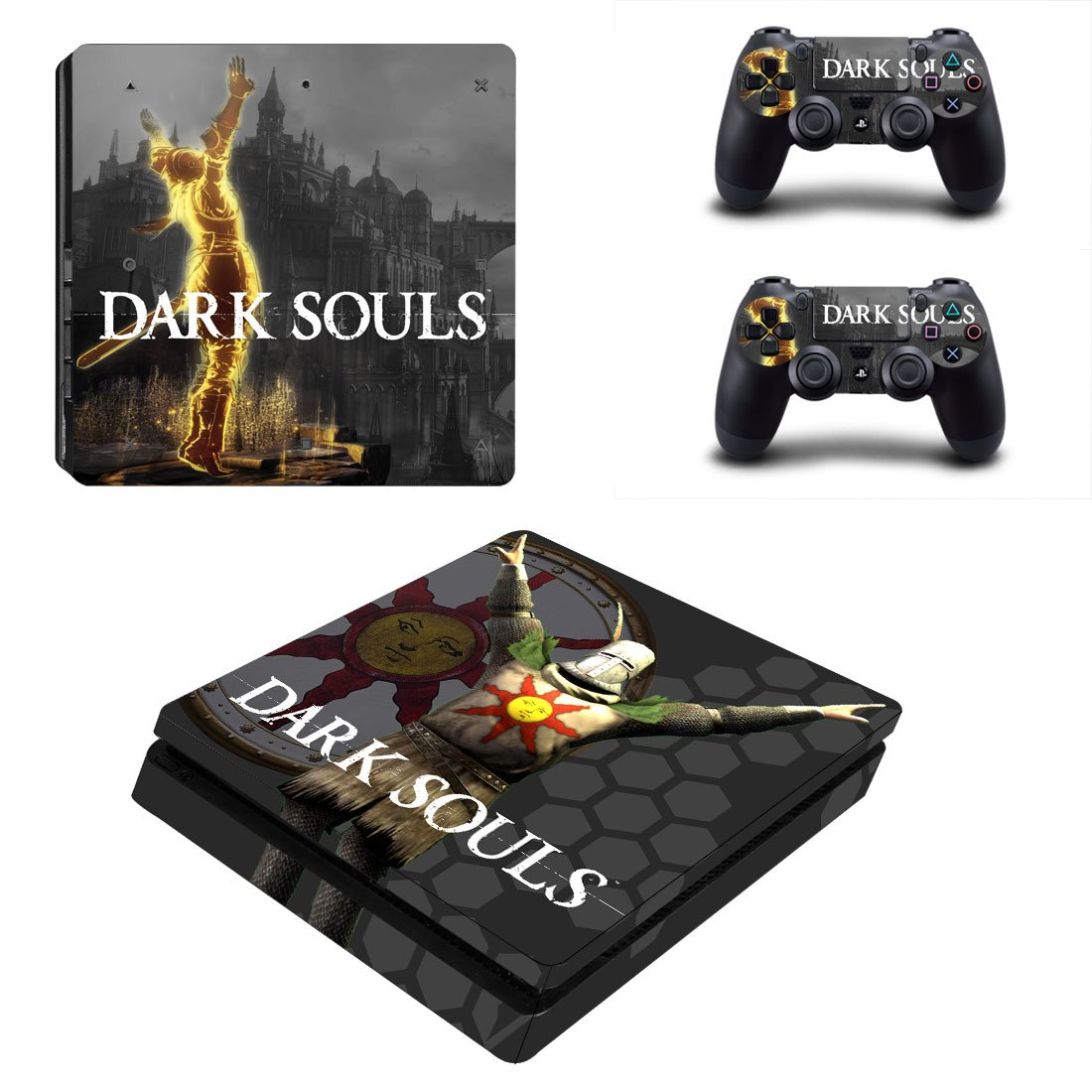 Dark Souls PS4 Slim Skin Sticker Decals PS4 Console And Controllers Protect Your PS4