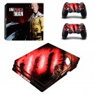 One Punch Man PS4 Pro Skin Sticker Decals PS4 Console And Controllers Protect Your PS4