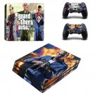 Grand Theft Auto PS4 Pro Skin Sticker Decals PS4 Console And Controllers Protect Your PS4